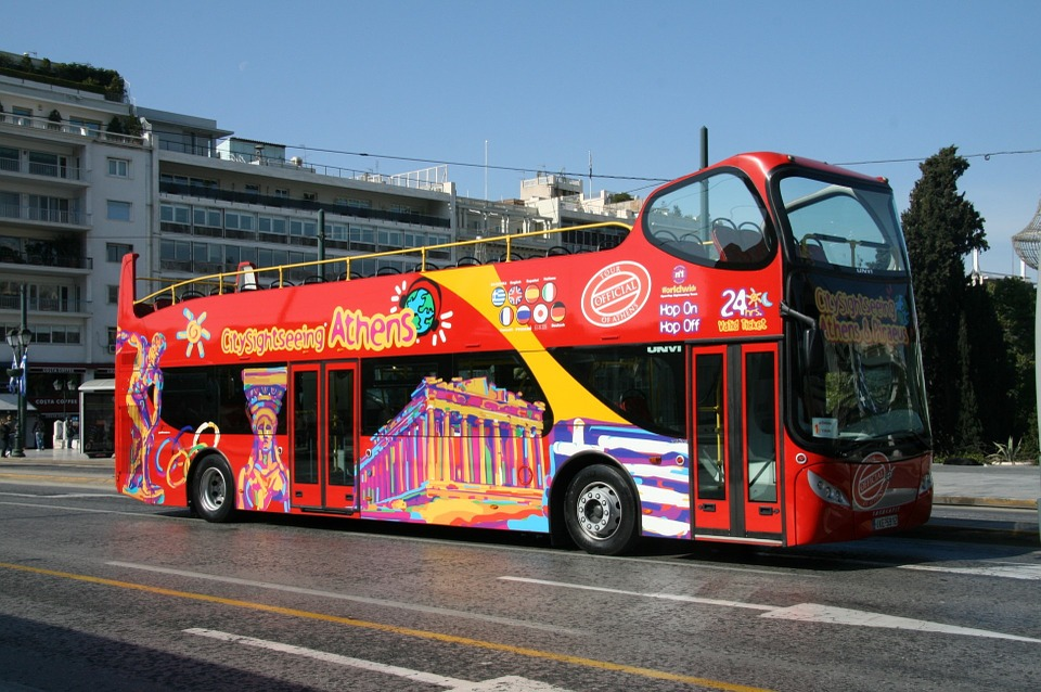 Athens City Sightseeing hop on hop off bus